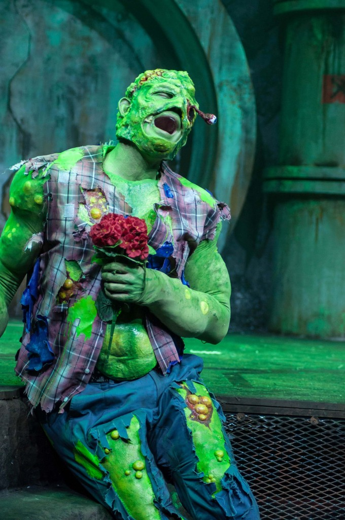 THE TOXIC AVENGER THE MUSICAL 13 Mark Anderson as Toxie Photo Irina Chira