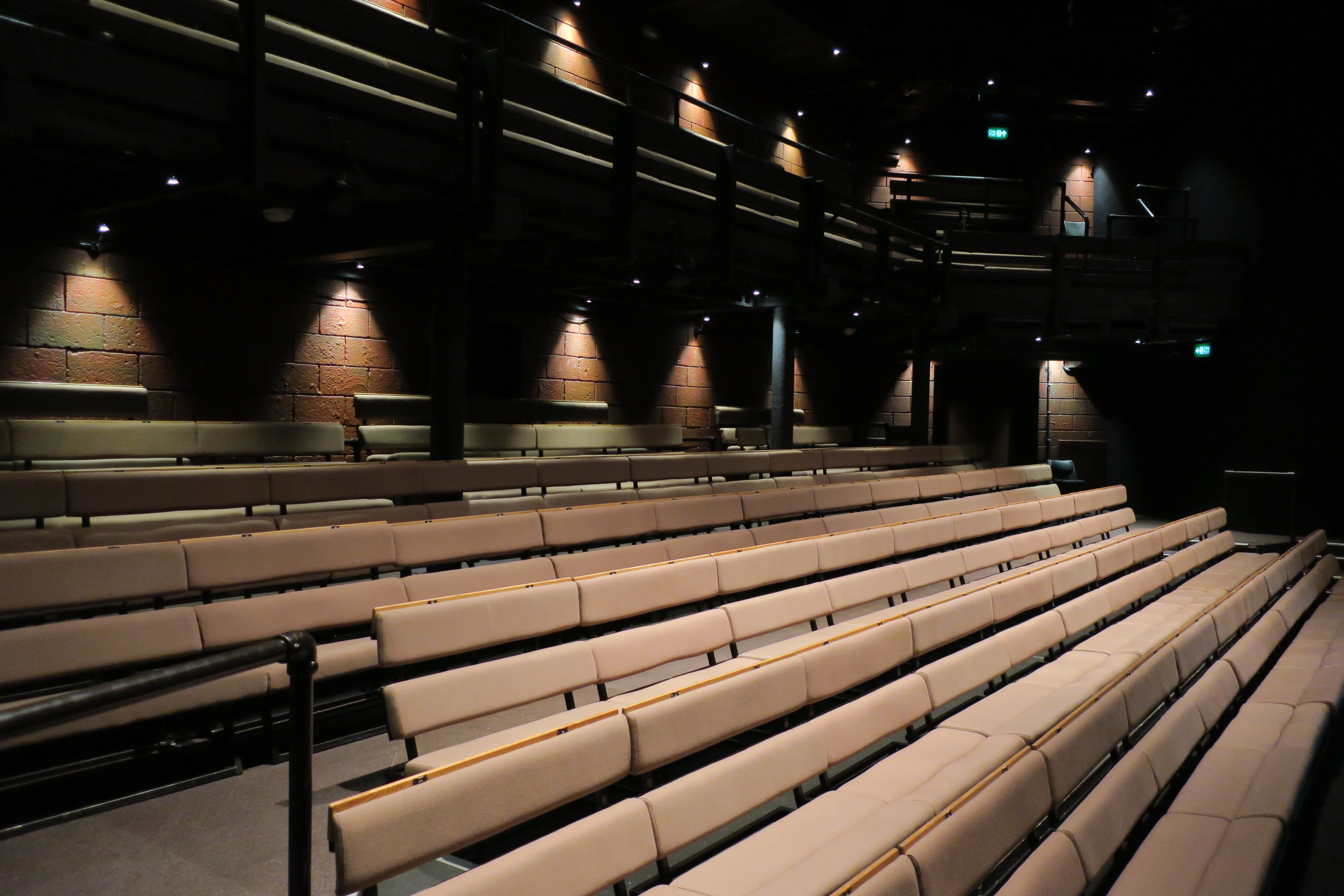 white light installs brand new house lighting at young vic