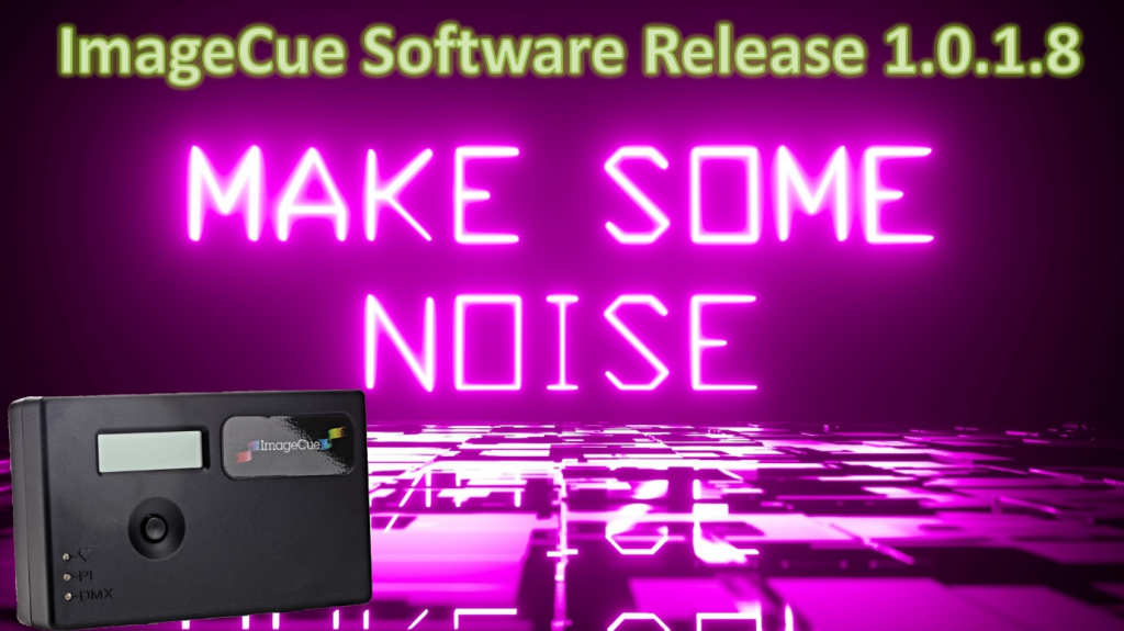 ImageCue Adds Audio Playback - White Light
