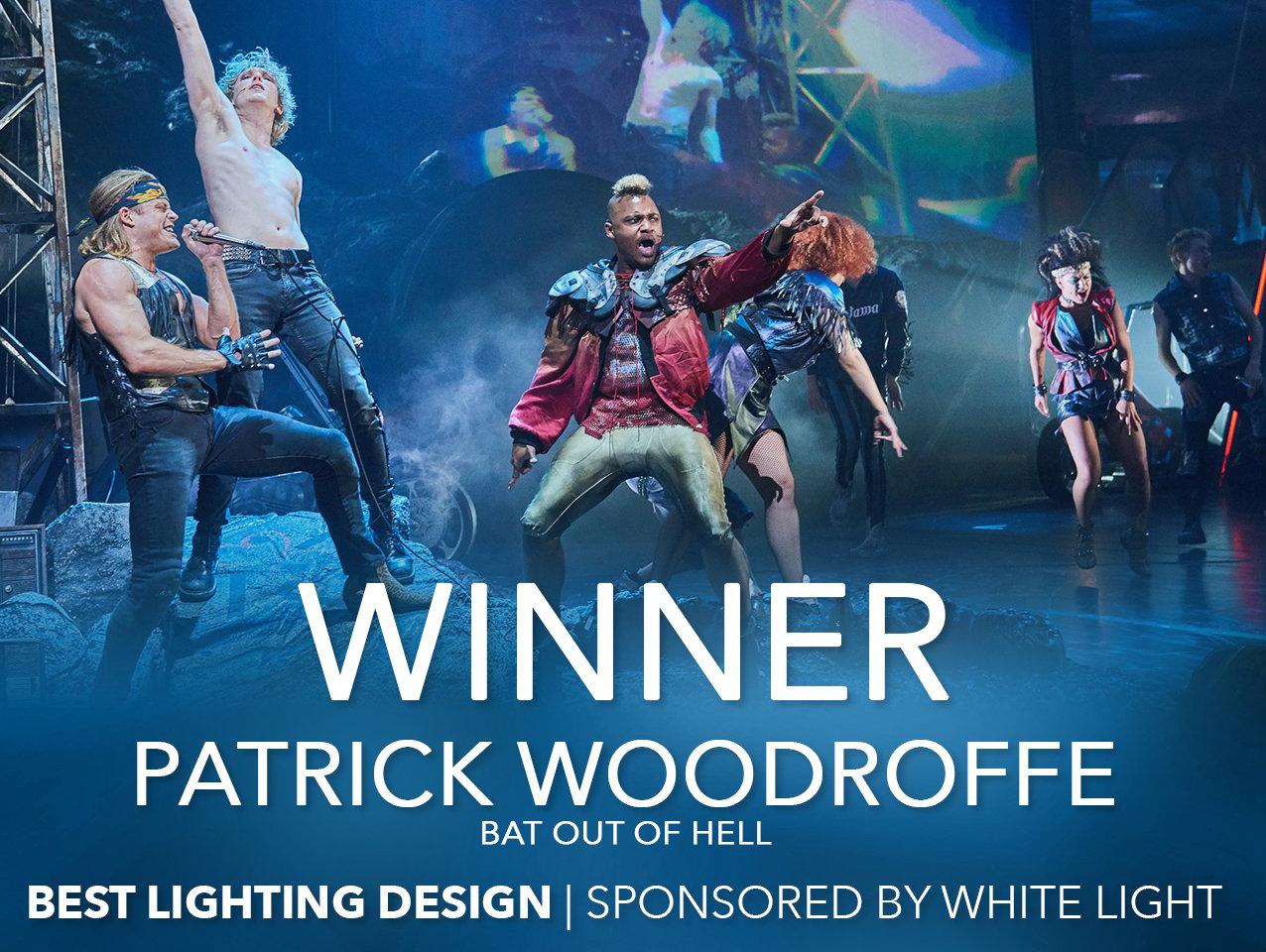 Patrick Woodroffe Won Best Lighting Design
