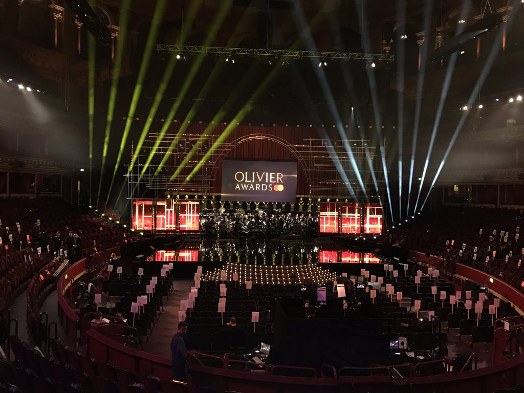White light jon clark wins olivier award for best lighting design